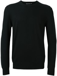 Alexander Mcqueen Crew Neck Sweater Black