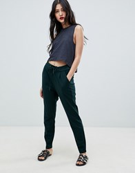 Vero Moda Relaxed Joggers Red