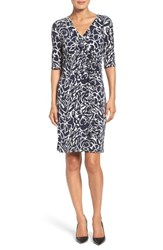 Ivanka Trump Women's Jersey Faux Wrap Dress