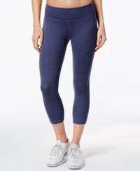 Ideology Melange Capri Leggings Only At Macy's Navy