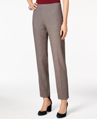 Tommy Hilfiger Modern Straight Leg Ankle Pants Grey