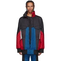 Y 3 Multicolor Colorblock Padded Track Jacket