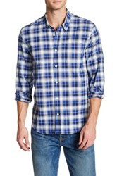 Levi's Plaid Long Sleeve Classic Fit Shirt Blue