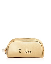 Deux Lux I Do Cosmetic Bag Compare At 35 Gold