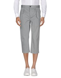 One Seven Two 3 4 Length Shorts Grey