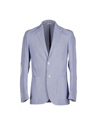 Lubiam Suits And Jackets Blazers Men Blue