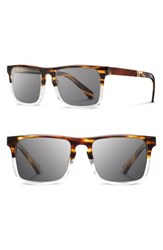 Shwood 'S 'Govy 2' 53Mm Sunglasses Whiskey Soda Grey Whiskey Soda Grey