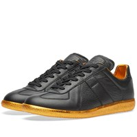 Maison Martin Margiela 22 Replica Low Gold Sole Sneaker Black