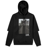 Unravel Project Building Boiled Hoody Black
