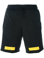 Off White Arrow Print Shorts Black