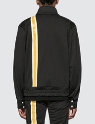 Palm Angels Monogram Track Jacket Black