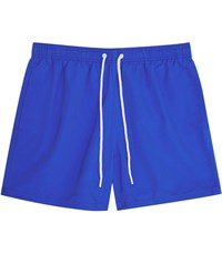 Reiss Sonar Drawstring Swim Shorts In Cobalt