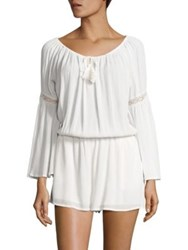 L Space Spirit Bell Sleeve Romper Ivory