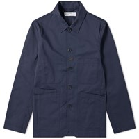 Universal Works Bakers Jacket Blue