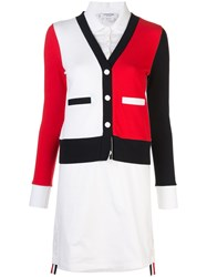 Thom Browne Layered Effect Buttoned Dress 60