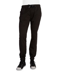 Hudson Jeans Elliot Drawstring Pants Black