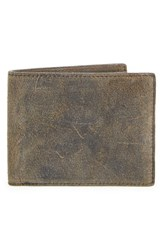 Rag And Bone Men's Rag And Bone Suede Billfold Wallet