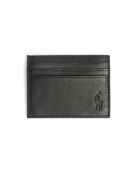 Polo Ralph Lauren Black Leather Cardholder