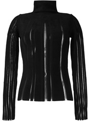 Fausto Puglisi Turtleneck Jumper Black