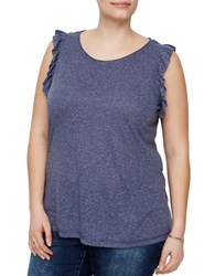 Junarose Mille Sleeveless Top Navy