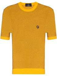 Fred Perry Crew Knit T Shirt 60