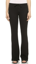 Splendid Thermal Drawstring Pants Black
