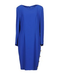 Gai Mattiolo Couture Knee Length Dresses Blue