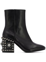 Ash Era Ankle Boots Black