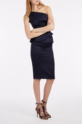 Roland Mouret Anerley Dress Navy