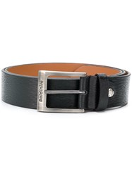 Baldinini Silver Buckle Belt Black