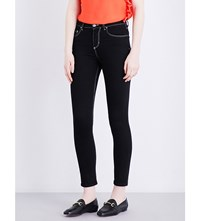 Claudie Pierlot Paola Skinny Cropped Mid Rise Jeans Noir