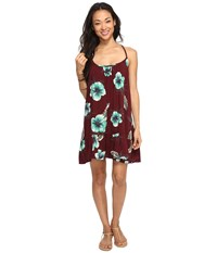 Volcom Stampede Dress Merlot Women's Dress Red
