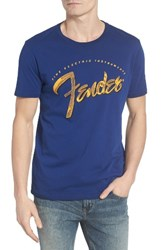 Lucky Brand Men's Fender Painted Graphic T Shirt
