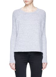 Rag And Bone 'Camden' Long Sleeve Knit T Shirt Grey