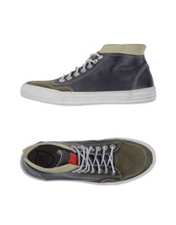 Htc Footwear High Tops And Trainers Men Grey