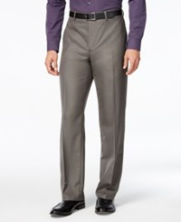 Alfani Men's Gray Pants Classic Fit Grey