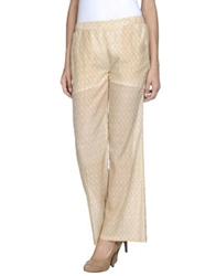 Soho De Luxe Casual Pants Yellow