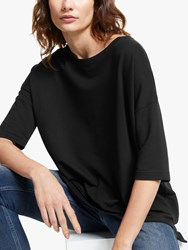 And Or Grace Sweat Top Black