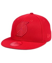 New Era Portland Trail Blazers Color Prism Pack 59Fifty Fitted Cap Red