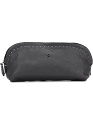 Henry Beguelin Stitched Detail Make Up Bag