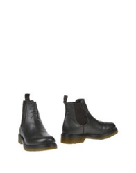 Never Ever Ankle Boots Dark Green