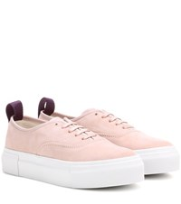 Eytys Mother Suede Sneakers Pink