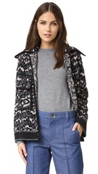M Missoni Animal Jacket Black