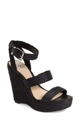 Vince Camuto Melisha Platform Wedge Sandal Black