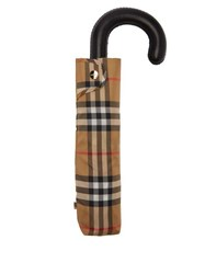 Burberry Trafalgar House Checked Umbrella Beige Multi