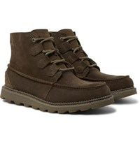 Sorel Madson Caribou Waterproof Leather Boots Brown