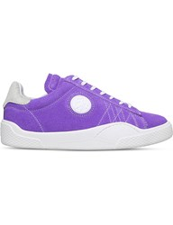 Eytys Wave Rough Suede Trainers Purple