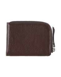 Maison Martin Margiela Maison Margiela 11 Small Leather Goods Coin Purses Men Dark Brown