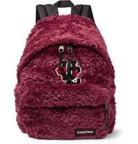 Undercover Eastpak Padded Pak'r Faux Fur Backpack Red