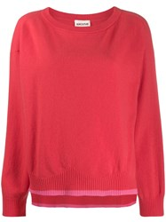 Semicouture Two Tone Knit Jumper 60